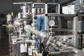 Inre av nukleära laboratorium — Stockfoto