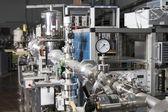 Interno del laboratorio nucleare — Foto Stock