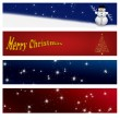 Royalty-Free Stock Photo: Christmas banners