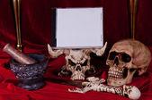 Satanic rite 3 — Stock Photo
