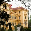 Ho Chi Minh, the Presidential Palace in Hanoi, Vietnam — Stock Photo