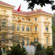 Ho Chi Minh, the Presidential Palace in Hanoi, Vietnam — Stock Photo
