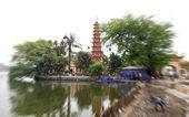 Tran Quoc Pagoda in Hanoi, Vietnam — Stock Photo