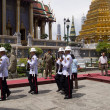BANGKOK – MARCH 28: Soldiers prepare for the royal of crematio — Stock Photo