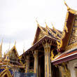 Emerald Buddha Temple in Progress - Stock Photo