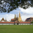Temple of the Emerald Buddha, Bangkok Thailand. - Stock fotografie