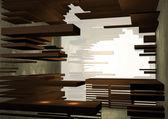 Interior de la tienda conceptual — Foto de Stock