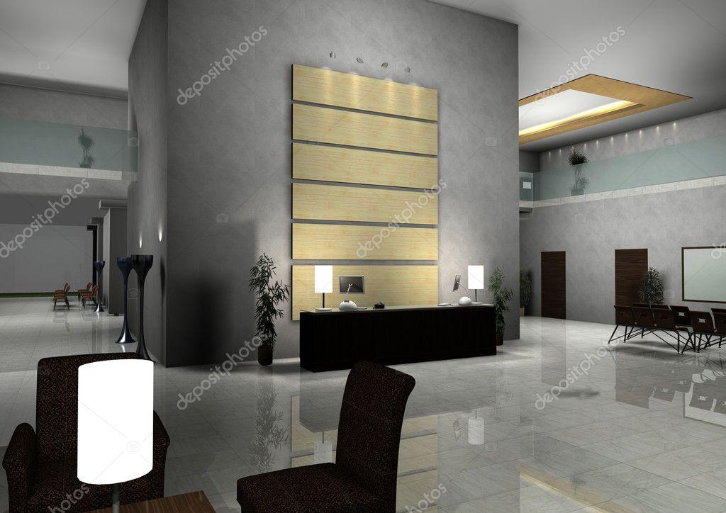 Modern Design Interior Of Hall Corridor Stock Photo Siraanamwong 9759064
