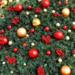 Decorative Christmas balls — 图库照片