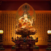 Guan Yin in chinese temple — Stock Photo