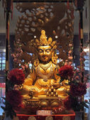 Buddha in chinese temple — Stock Photo