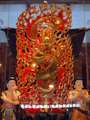 çin stili ejderha heykeli — Stok fotoğraf