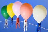 Ballons up — Stock Photo