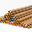 Royalty-Free Stock Photo: Piled up colored pencils