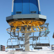 Chair lift station — Stock Photo