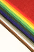 Samples of felt — Foto Stock