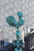 A Prague cock on the St. Vitus Cathedral — Stock Photo