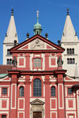 Basilica of St. George Prague — Stock Photo