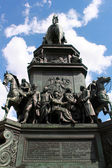 Statue of Frederick the Great in Berlin — Stock Photo