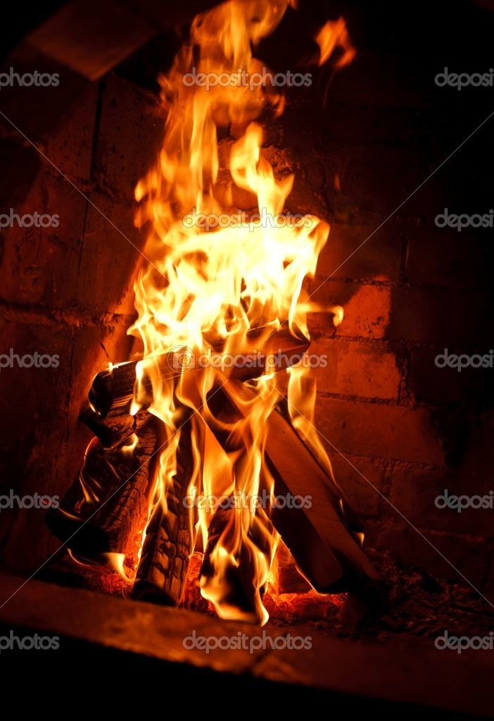 Fireplace — Stock Photo #9285757