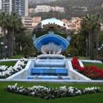 Monte Carlo Grand Casino. Monaco — Stock Photo