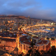 Monaco .night panorama — Stock Photo #9397050