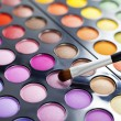 Eyeshadow palette. — Stockfoto