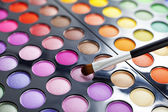 Eyeshadow palette. — Stock Photo