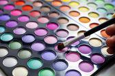 Eyeshadow palette. — Stock Photo