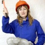 Working woman — Stock Photo
