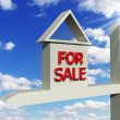 Board house for sale - Foto Stock