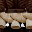 Stockfoto: Shimenawa, japanese shinto rope.