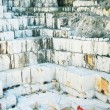 Stock Photo: White marble quarry Carrara, Italy