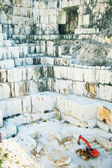 White marble quarry Carrara, Italy — Stock Photo