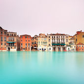 Venice, Grand Canal detail. Long exposure photography. — Stock Photo