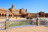 Plaza de espana Seville, Andalusia, Spain, Europe — Stock Photo