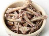 Chicken bones — Stock Photo
