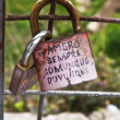 Love locks — Stock Photo #10484121