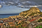 View of the Cefalù in the hdr — Stock Photo