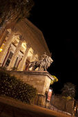 Theatre Massimo by night.Palermo — Stock Photo