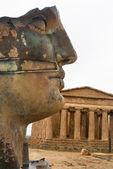 Vallei van de tempels, agrigento, sicilië, italië. — Stockfoto