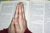 Praying hands — Stock Photo