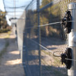 Stock Photo: Electric fence