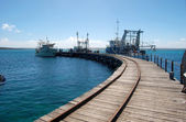 Town jetty — Stock Photo
