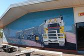 Road train picture — Stock Photo