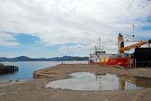 Port Moresby port — Stock Photo