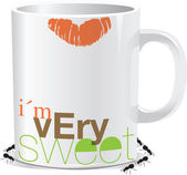 I am very sweet. Vector illustration — Stock Vector