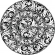 Renaissance seamless pattern. Vector illustration — Image vectorielle