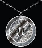 Medallion. Vector illustration — Stock Vector