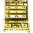 Victorian furniture illustration - Stock Vector